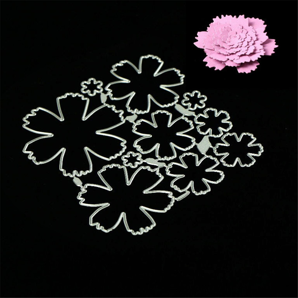 Dragonfly Flower Layering Stencil Template DIY Scrapbooking Home Bar Decor