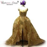 VARBOO_ELSA Arabisch Mädchen Kleider Glitter Pailletten Meerjungfrau Abendkleider 2017 Spitze Lange Abendkleid Gatsby Kleid gold arabischen kleid