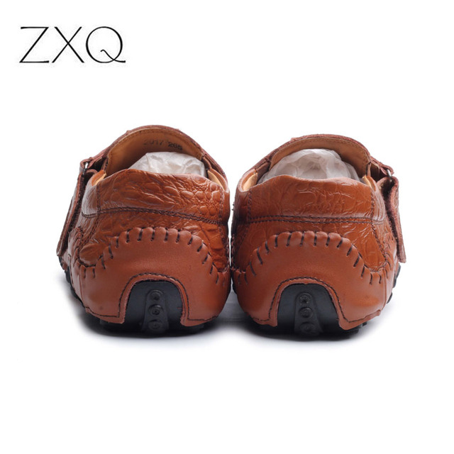 New Design 2017 Spring Summer Men Flat Shoes Soft Split Leather Male Moccasin Driving Loafers Shoes Casual Sapatos Homens 5