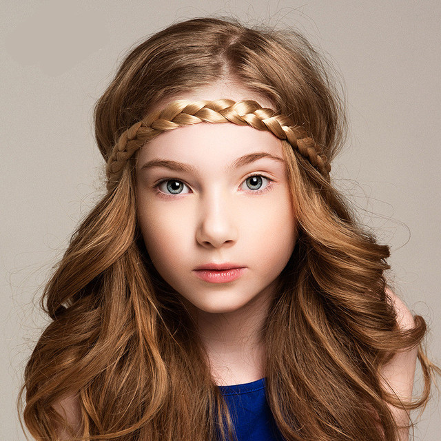 Postiche cheveux naturels avec serre tete