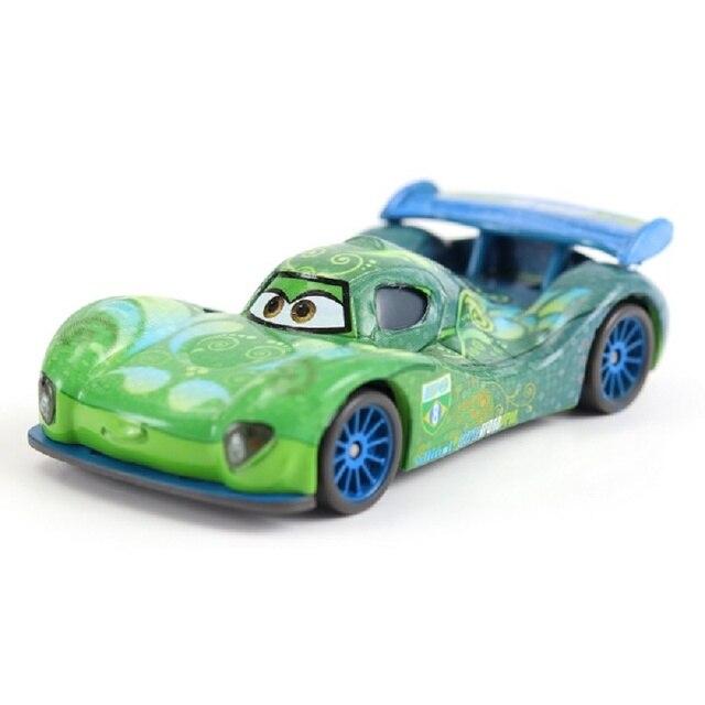 Xe ô tô Disney Pixar Cars 2 Carla Veloso Kim Loại Diecast Sét McQueen Mater Jackson Bão Ramirez Đồ Chơi Xe Hơi 1:55 Loose Thương Hiệu đồ chơi