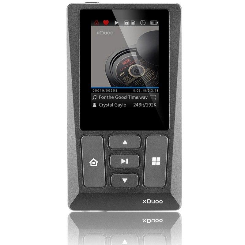 XDuoo HIFI lecteur de musique sans perte 256 GB Expansion lecteur de musique numérique professionnel platine 24 bits/192 KHz