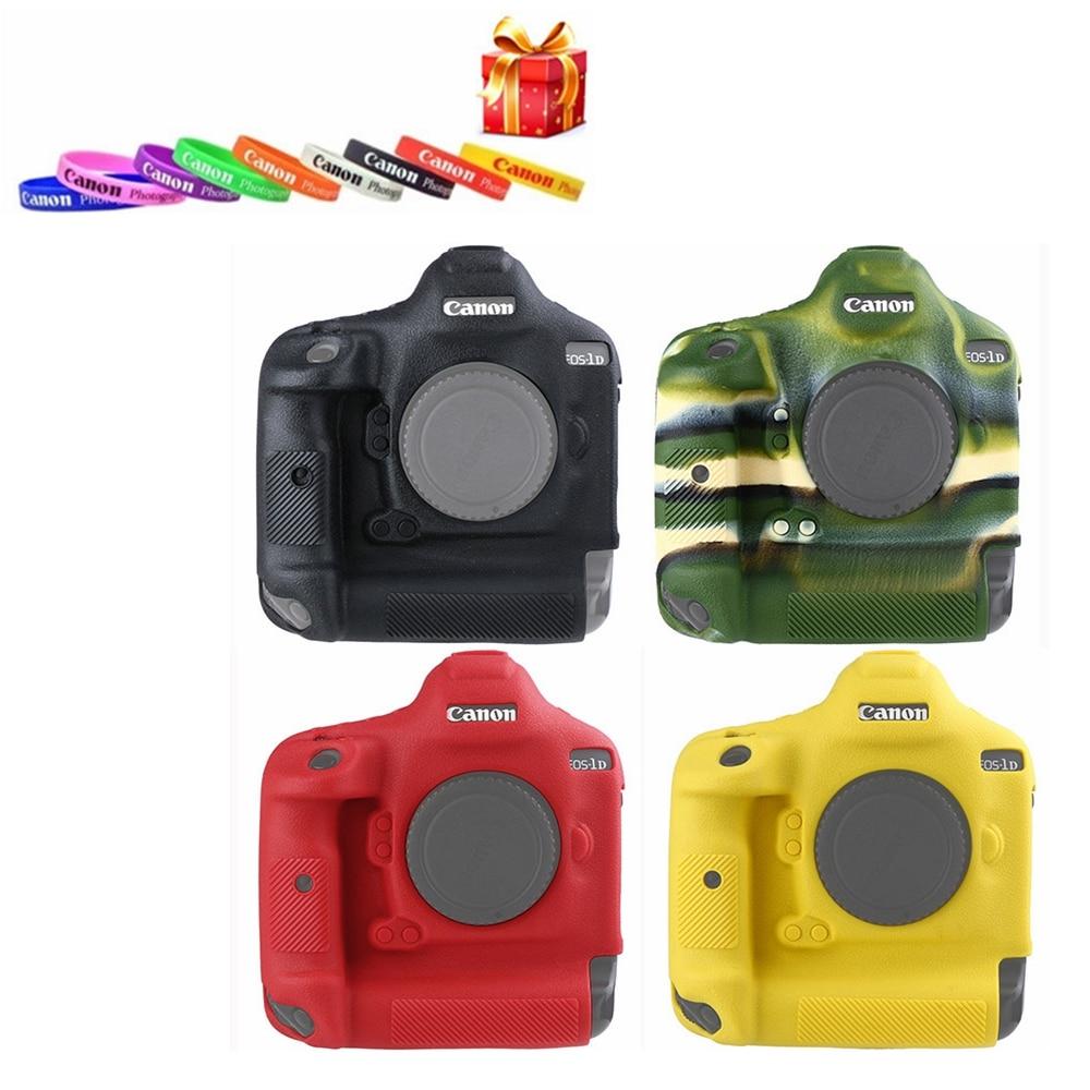 Coque de protection en caoutchouc Silicone souple pour appareil photo pour Canon 1DX 1DX2 1 DXII