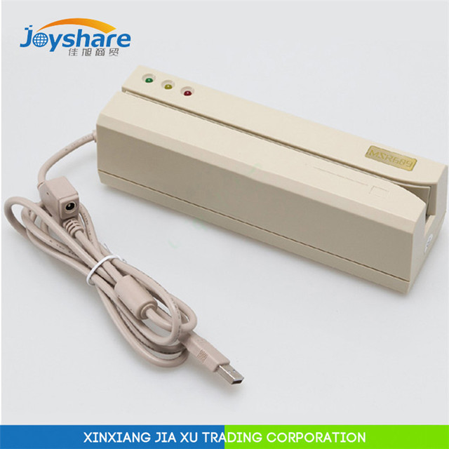 MSR card reader писатель MSR609 USB подключи и играй Совместимый MSRU206 MSR605 MSR606 MSRX6