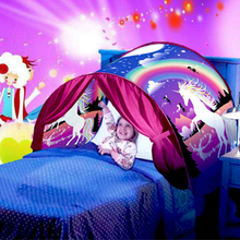 Upgrade Children Bedding Tent Dream Girls Room Decor Mosquito Curtain for Bed Canopy Beds Kids Curtain Tent Boy Girl Baby Gift недорого