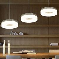 Modern Minimalist LED Restaurant Pendant Lights Three Creative Dining Room Personalized Dining Room Lamp NEW Pendant