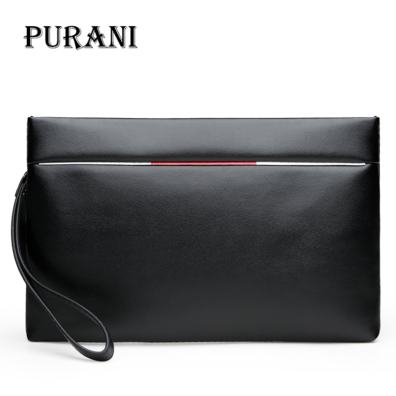 PURANI Brand Bag Men clutch Bags Monederos Carteras Mujer Luxury Male Leather Purse Men's Clutch Wallets Handy Man Bags Wallets citilux бра citilux cl427310