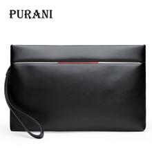 PURANI Brand Bag Men clutch Bags Monederos Carteras Mujer Luxury Male Leather Purse Men s Clutch