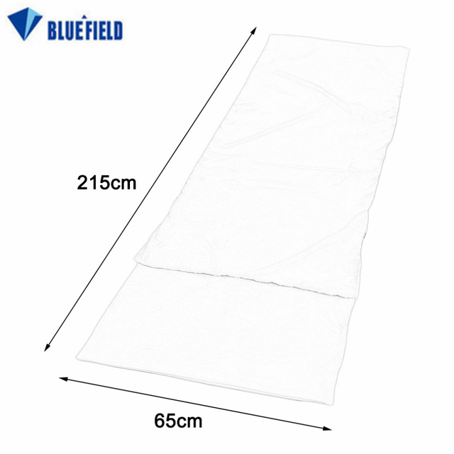 Bluefield Ultralight Outdoor Sleeping Bag Liner Polyester Pongee Portable Single Sleeping Bag Camping Travel Sleep Bag
