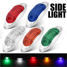 24V 6SMD Truck lights led marker light Car Bus Truck Lorry Side Marker Indicator Trailer Light Rear Side Lamp accessories(China)