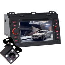 Android 5.1 8 Inch Car Dash DVD Player GPS Navi 3G WIFI BT Quad Core / DVR / OBD / 1024×600 / Head Unit for Toyota Prado 07-11