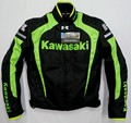 2015 Body Armor Hombres Recién Llegado de Motos Kawasaki-Automóvil ropa de Invierno Ropa de Carrera de Motos Térmica Flanchard Forro Extraíble