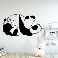 Beauty The panda Wall Art Decal Decoration Fashion wall-Sticker For Kids Room Living Room Home Decor Waterproof Wall Art Decal