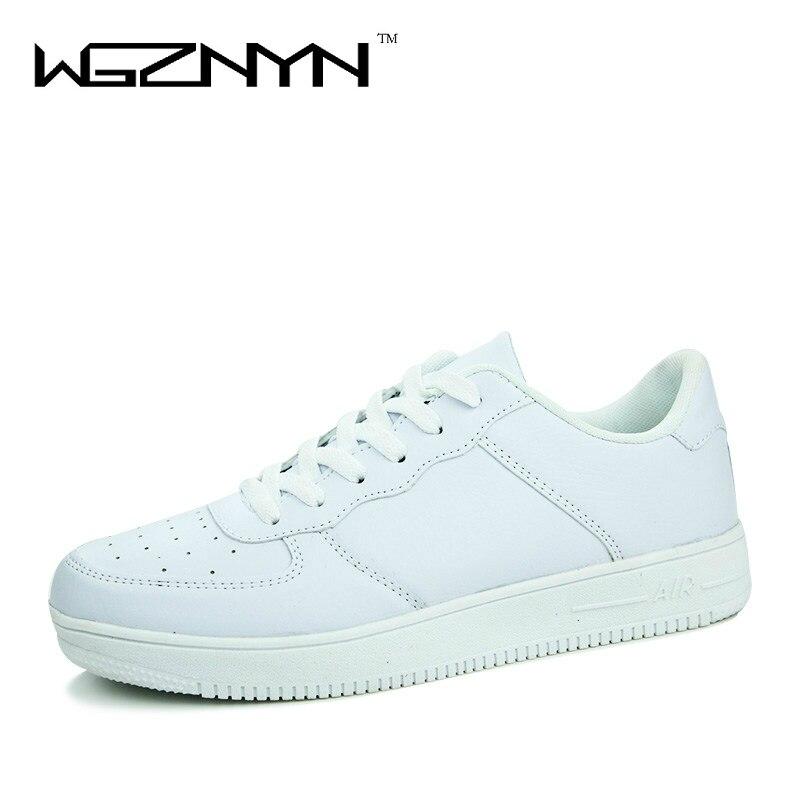 Nuevos 2017 Hombres Zapatos Casuales Blanco PU Cuero de Los Hombres Zapatos de C