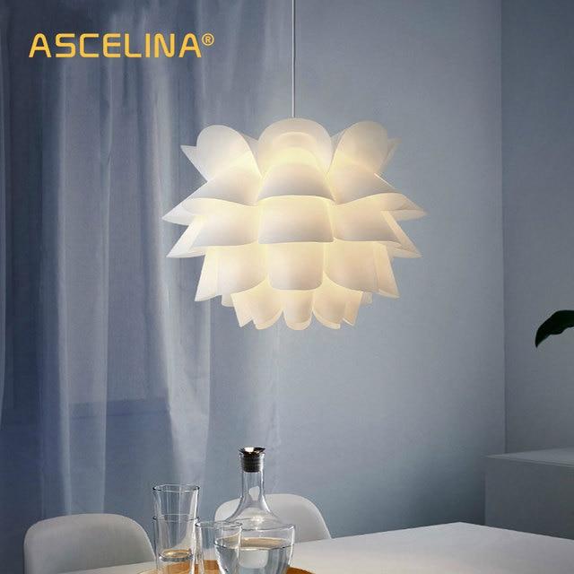 Скандинавский подвесной светильник современный подвесной светильник креативное освещение белый лотос подвесной светильник спальня гостиная бар учебное Искусство украшение
