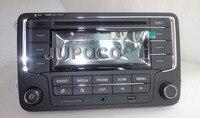 Car Radio Head Unit RCN210 SUPPORT CD USB MP3 SD Card AUX WITH Power cable for Golf 5 6 Jetta Mk5 6 Passat B6 B7 CC Tiguan