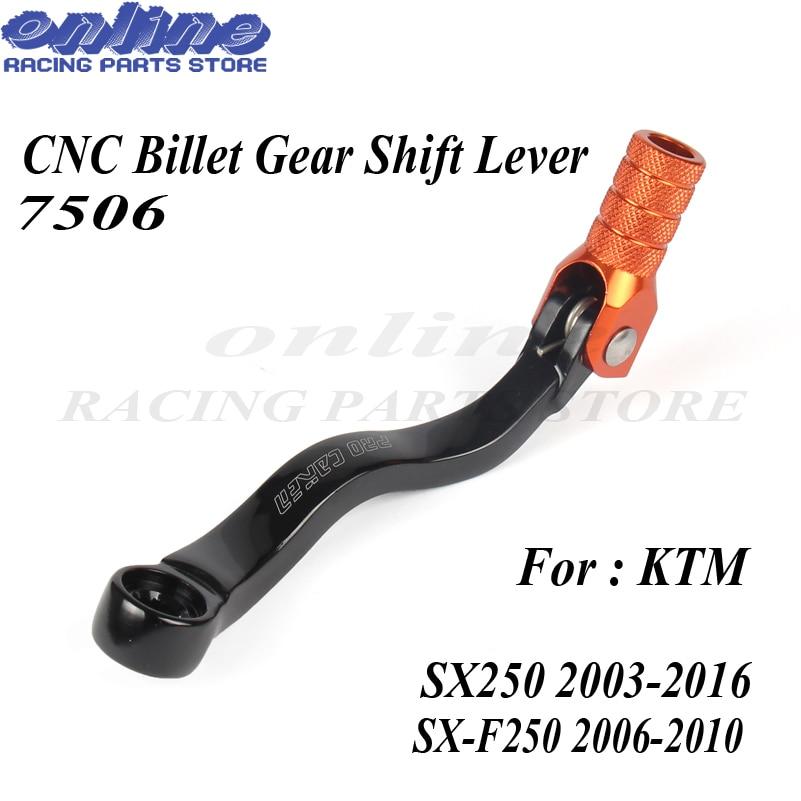 CNC Gear Shifter Shift Lever For KTM SX SXF 250 Motocross Enduro Dirt bike Free Shipping