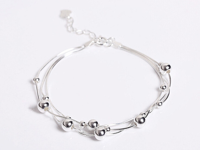 by foot women mixed sexy anklets anklet ladies wholesale beads girls chain silver unique eraymall simple nice jewelry ankle gift sterling for product