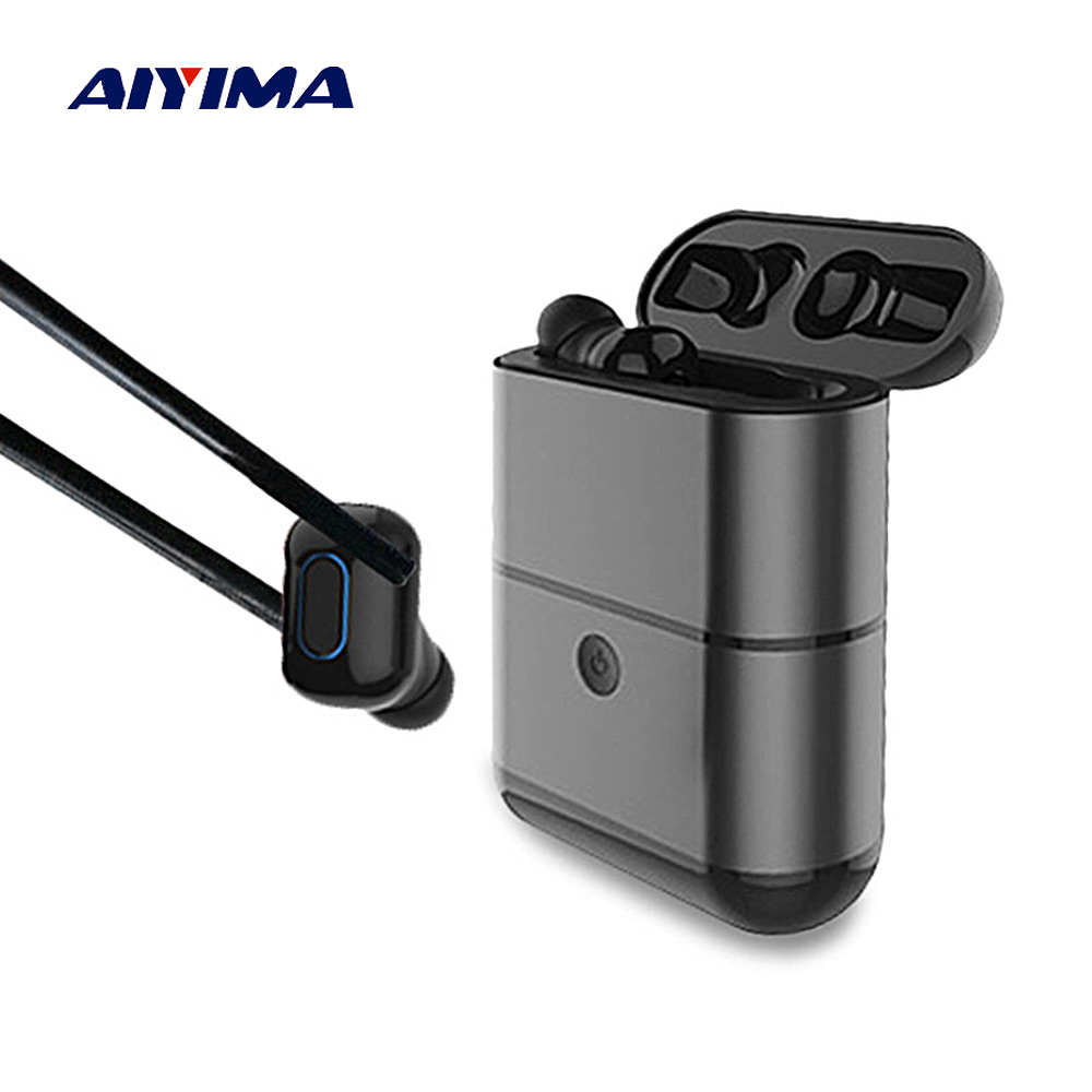 AIYIMA TWS Audifonos Fone 5.0 Bluetooth Wireless Earphones Earbuds Stereo Handsfree Headphone Ear Phones Fone De Ouvido Sem Fio ipx8 bluetooth earphone mp3 bluetooth headphones wireless earphones airpods handsfree ear noise cancelling fone de ouvido