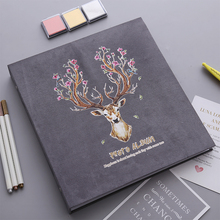 2018 new Photo album DIY handmade creative film cover photo this sticker couple gifts romantic romance love
