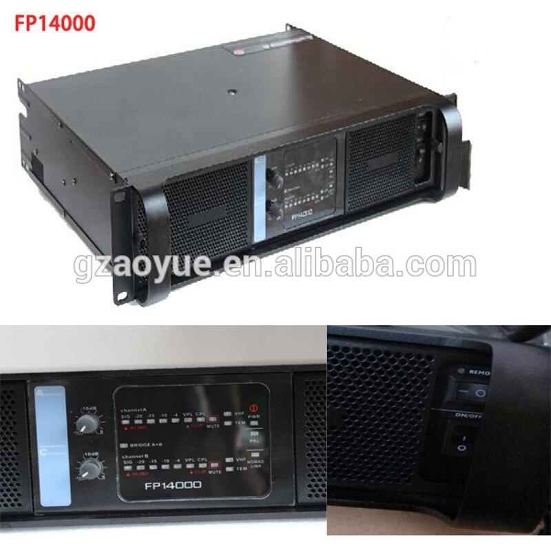 Fp14000 audio Amplifier, Digital 2.1 Amplifier, Switch Power Amplifier. 2400W Amplifier linep a915 digital amplifier