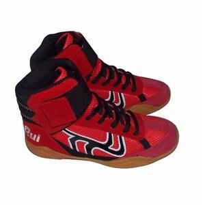 ebe19644a6 ALDOMOUR Bull Leather Men Wrestling Shoes For Men Women