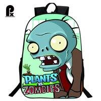 Trẻ em Schoolbag Hot Game VS Zombie Print Backpack đối với Thiếu Niên Chàng Trai và Cô Gái Chỉnh Hình Phim Hoạt Hình Ba Lô Schoolbags