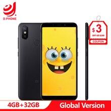 Espagne 1 ~ 5 jours ouvrables Version mondiale Xiao mi A2 4GB 32GB Android One 5.99 plein écran S660 AI double caméra mi A 2 téléphone portable