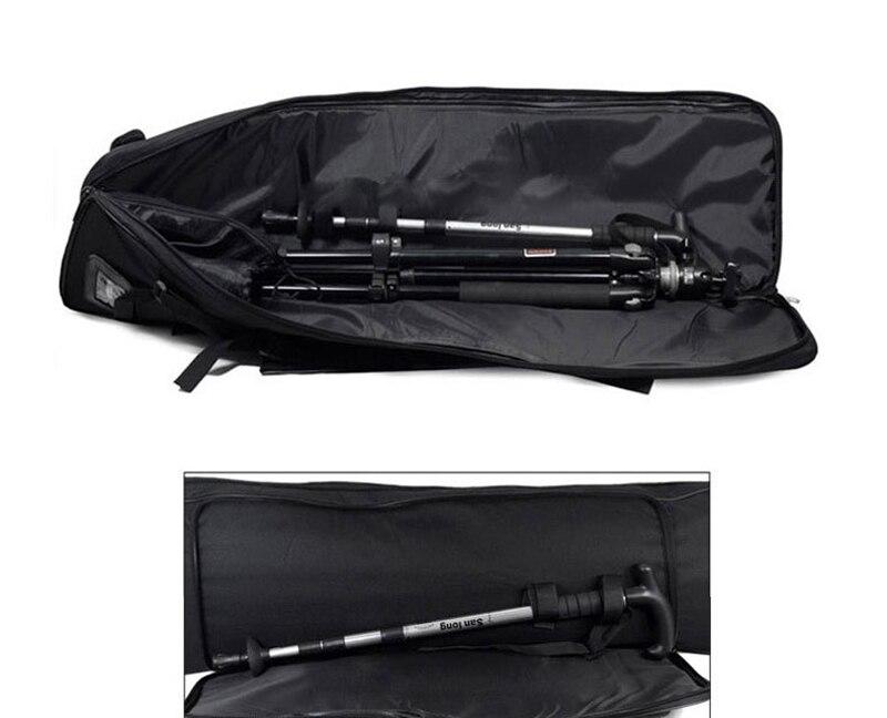 Sac de pêche multifonctionnel sac de pistolet tactique de chasse en plein air sac de transport carré sac de Protection pour pistolet sac à dos de Camping