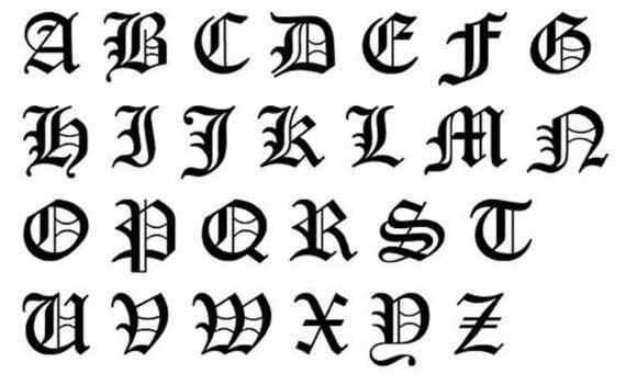 Aço Inoxidável QIAMNI Velho Inglês Alfabeto 26 A-Z Carta Colar de Presente de Aniversário Colar de Pingente de Mulheres Homens de Capital Inicial
