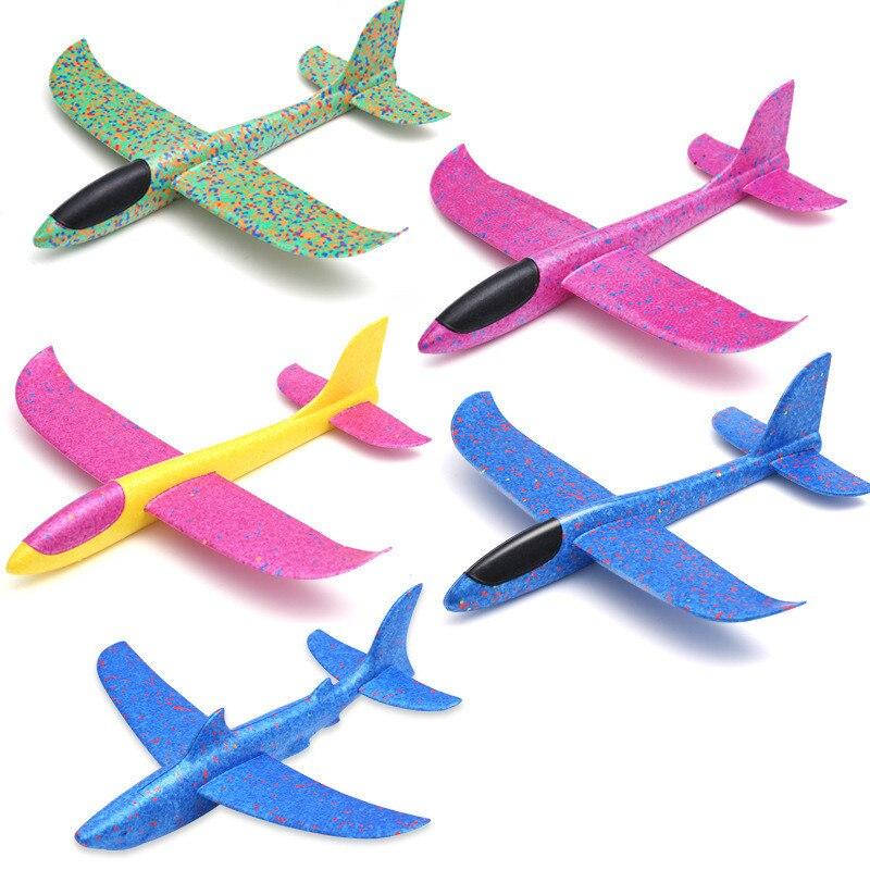 2017 12pcs Diy Hand Throw Flying Glider Planes Foam: 2018 DIY Hand Throw Flying Glider Planes Toys For Children