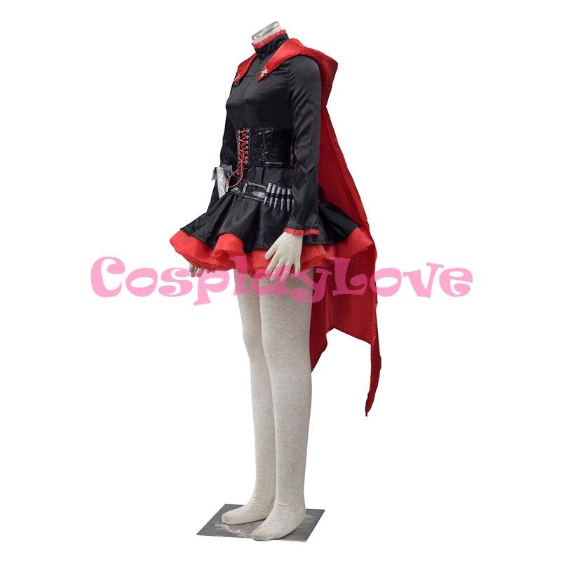 Բարձրորակ RWBY Red Trailer Ruby Rose Cosplay Costume RWBY - Կարնավալային հագուստները - Լուսանկար 2