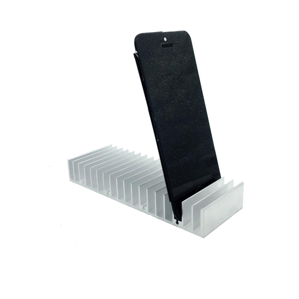 Aluminiowy metalowy uchwyt na PCB LCD Gniazda na tacki dla iPhone Samsung Panel LCD Odnowić Stacja wsparcia Narzędzia do naprawy telefonu