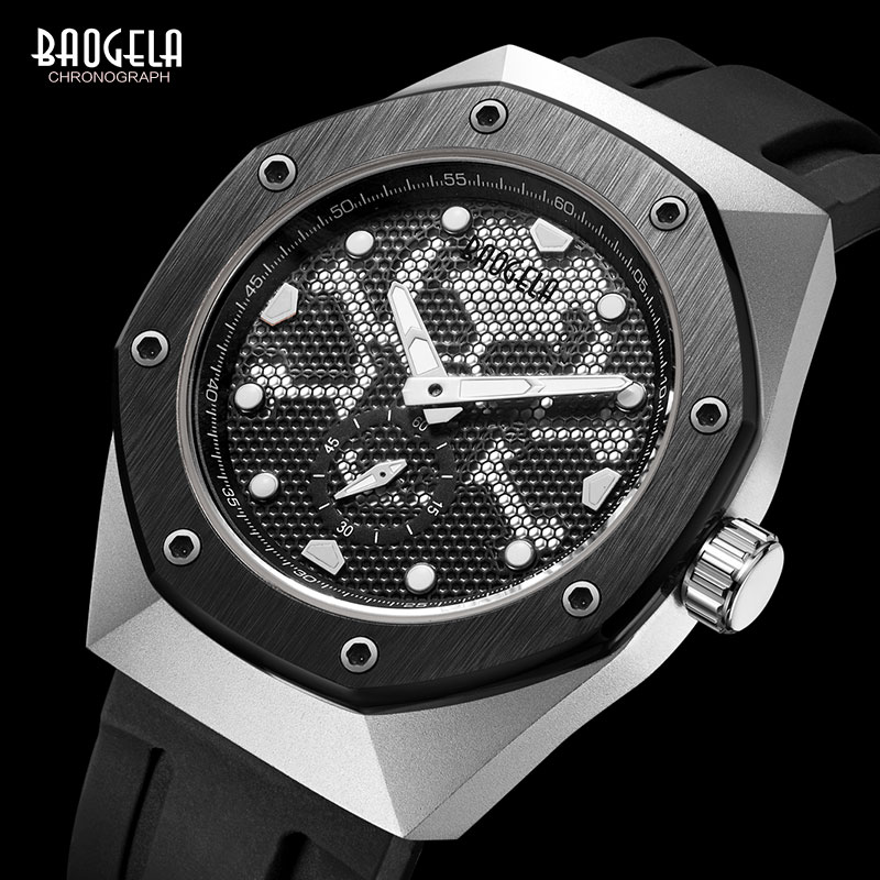 BAOGELA Mens Military Sports Army Quartz Watches Luxury Top Brand Wristwatch Man Relogios Mascuinos Clock Luminous dial 1901BAOGELA Mens Military Sports Army Quartz Watches Luxury Top Brand Wristwatch Man Relogios Mascuinos Clock Luminous dial 1901