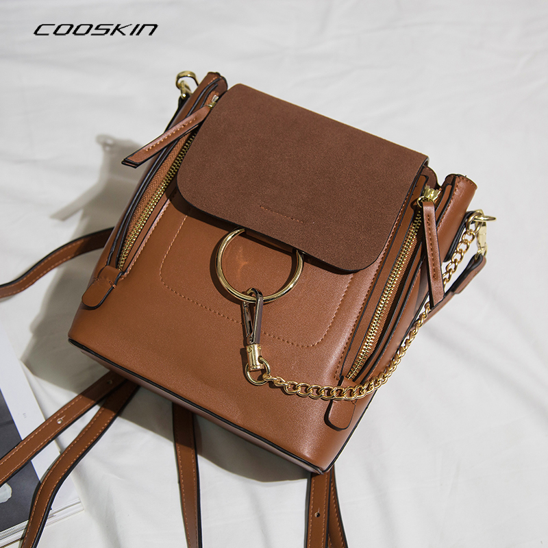 Cooskin  Women Bag Fashion Women Famous Brands Designer Handbag High Quality Shell Shoulder Bags Tote