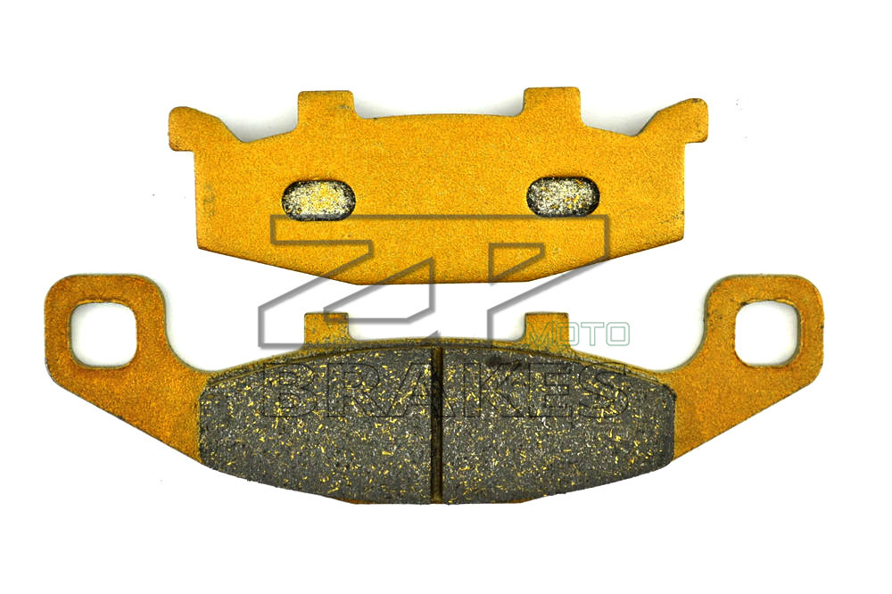New Brake Pads Organic For SUZUKI GPZ 900 R (ZX 900 A12-15) 1999-2002 GPZ 400 R 1989- Rear Motorcycle BRAKING OEM Free Shipping