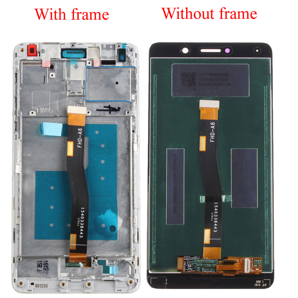 For Huawei Honor 6X BLN-TL00 BLN-TL10 BLN-L21 BLN-L24 Touch Screen Digitizer Sensor Panel + LCD Display Monitor Assembly / FrameFor Huawei Honor 6X BLN-TL00 BLN-TL10 BLN-L21 BLN-L24 Touch Screen Digitizer Sensor Panel + LCD Display Monitor Assembly / Frame