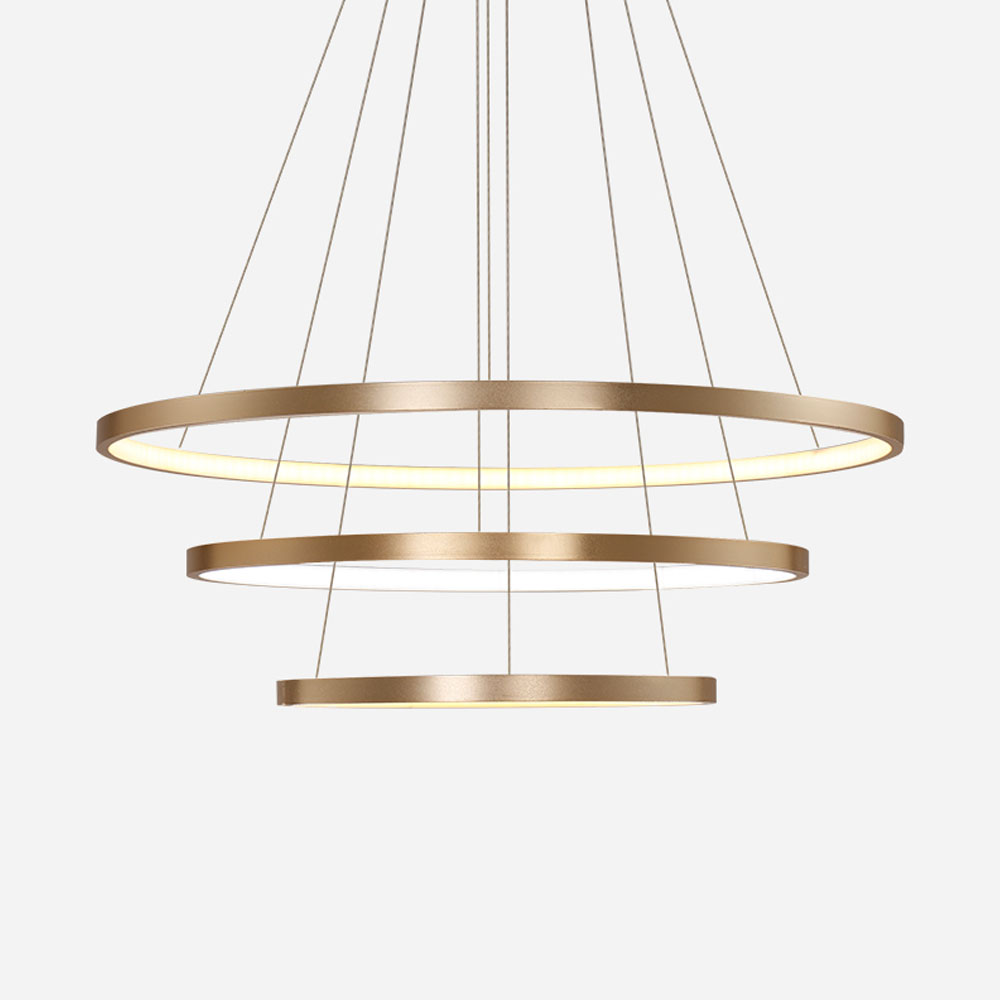 HGHomeart Fashion Ring Chandeliers LED Luster Living Room Lamp Modern  Chandelier Suspension Light Lampadari Lighting Decoration-in Chandeliers  from Lights ... 78dc4be0fd