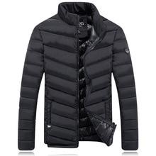 Men's Hooded Coat 2016 Hot Sale Mens Winter Jackets Overcoat Male Casual Down Jackets Warm Coats Big Size M-3XL