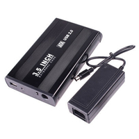 3 5 3 5 Inches USB HDD SATA Hard Disk Drive Enclosure Cartridge Case