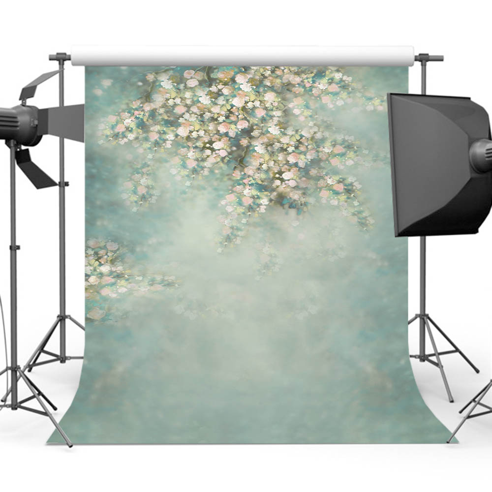 Mehofoto Newborn Backdrop for Pictures Photography Flower Photo Shoot Background for Photographic Studio CM-5161