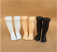 Free Shipping!! New Style Plastic Child Foot Mannequin Child Foot Model Factory Direct Sell