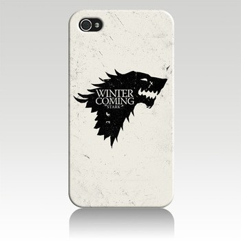 Games of Thrones White Case Cover for iPhone