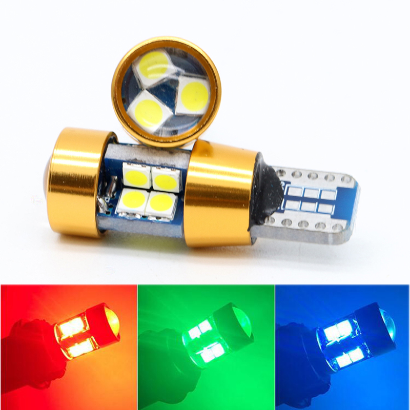 10X Extremely Bright 19SMD 3030 Chipset LED Bulbs for T10 168 194 Car Interior Dome Map Door Courtesy License Plate Lights