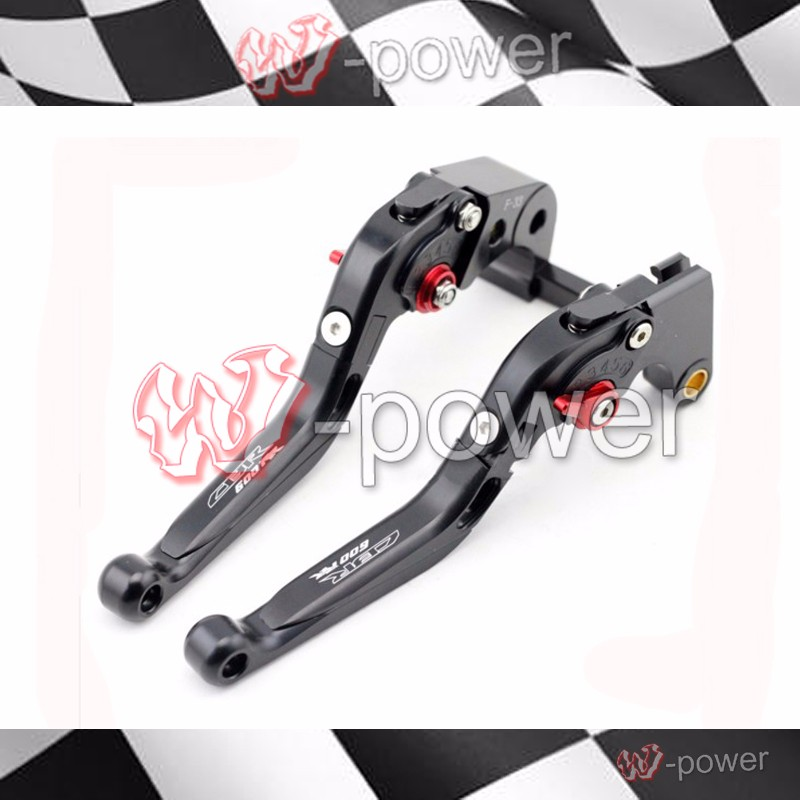 fite For HONDA CBR 600RR 2003 2004 2005 2006 Black Motorcycle Adjustable Foldout Extendable Brake release lever logo CBR600RR motorcycle fender eliminator led light tidy tail for honda cbr 600rr cbr600rr 2005 2006 cbr 1000rr cbr1000rr 2004 2005 2006 2007
