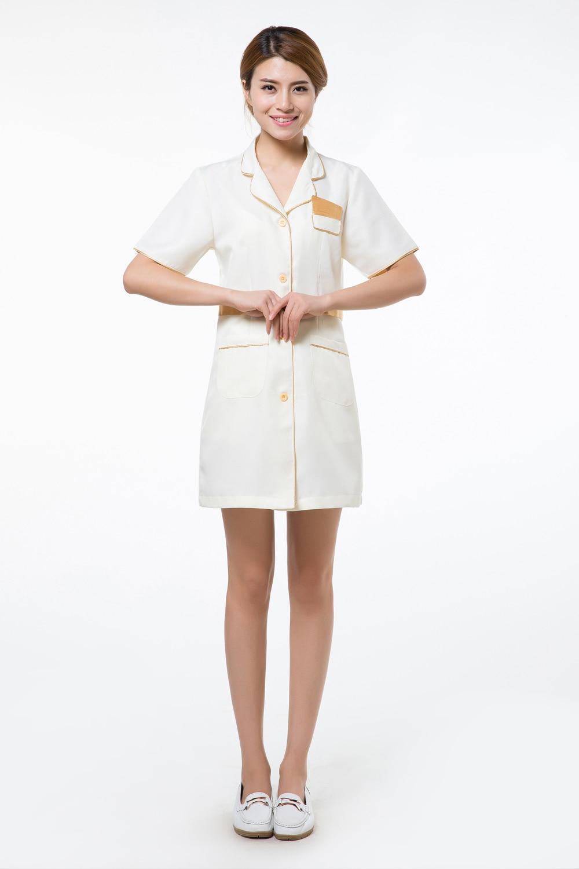 2015 OEM lab coat cotton ladies scrubs hospital nursing gowns spa ...