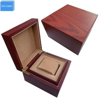Caja de reloj de regalo de madera de lujo para LOGOTIPO de impresión - Accesorios para relojes