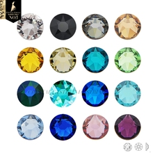 Crystal Castle Crafts Rhinestone 6A Best 1440Pc Color Non-Hotfix Strass Flatback Crystal Diy 3D Nail Art Rhinestones For Shoes