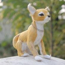 12CM High Handmade Lifelike Emulation Dog Chihuahua Model For Sale