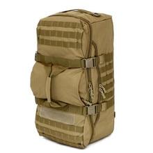 Hohe Qualität Männer Nylon Reisegepäck Taschen Reisetaschen Travel Tote Große Freizeit Mode Rucksäcke Große Größe Kapazität 56-75L